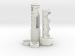 Inception Elite Proffie Removable Battery Chassis in White Natural Versatile Plastic
