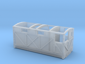 NSR 20ton Cravens Brake Van body - 2mm scale in Smooth Fine Detail Plastic