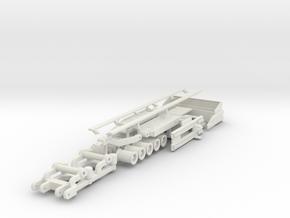 5-Achs Tieflader Zubehör / low bed trailer attachm in White Natural Versatile Plastic