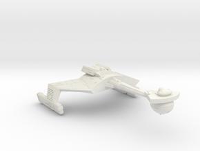 3125 Scale Klingon D7WK Heavy Command Cruiser  in White Natural Versatile Plastic