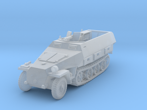 Sdkfz 251/3 D Radio 1/160 in Smooth Fine Detail Plastic