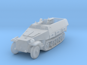 Sdkfz 251/3 D Radio 1/285 in Smooth Fine Detail Plastic