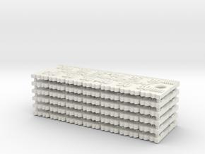 MicroMagic tuning scales 6 pack in White Natural Versatile Plastic