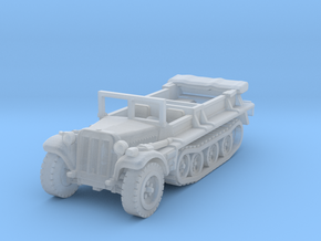 Sdkfz 10 B (open) 1/220 in Smooth Fine Detail Plastic