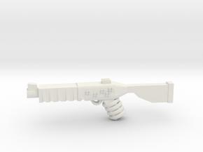 BlasterRifle in White Natural Versatile Plastic