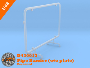 OMCD430013 Pipe Barrier without plate (1/43) in Smoothest Fine Detail Plastic