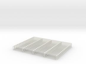 Void Jenga Mini in White Natural Versatile Plastic