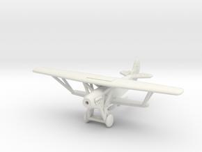 1/144 Fokker D.XIII in White Natural Versatile Plastic