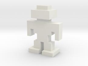 Robotron G.R.U.N.T. Discrete in White Natural Versatile Plastic