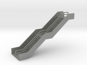 N Scale Station Stairs H40mm in Gray PA12
