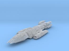 Colonial Battlestar Valkyrie in Smooth Fine Detail Plastic