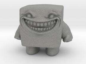 Gelatinous Cube Golem miniature fantasy games dnd in Gray PA12