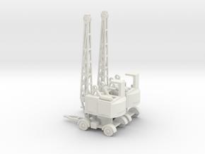 1/144 Coles EMA RAF crane in White Natural Versatile Plastic