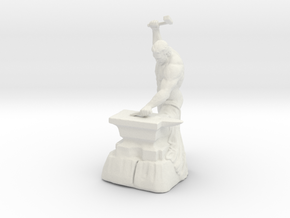 Printle W Homme 023 - 1/32 in White Natural Versatile Plastic