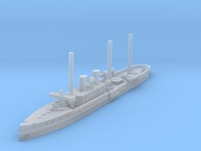 1/1250 Destructor Gunboat (1900) in Smooth Fine Detail Plastic