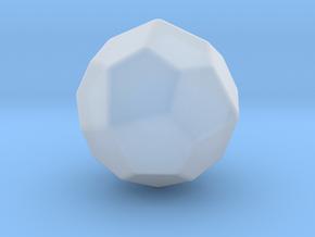 Pentagonal Icositetrahedron (Laevo) - 10mm-RoundV2 in Smooth Fine Detail Plastic