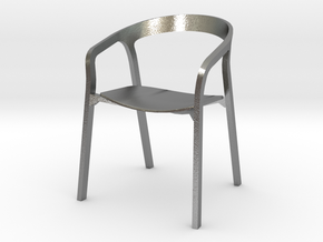 She Said Chair - 6cm tall in Natural Silver