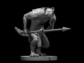 Gnoll  in Smooth Fine Detail Plastic