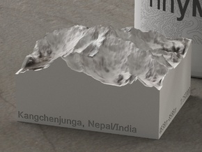Kangchenjunga, Nepal/India, 1:250000 Explorer in Natural Full Color Sandstone