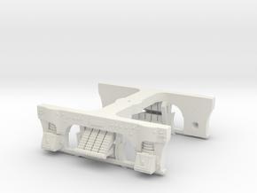 LIRR T-54 Truck (One Pack HO) in White Natural Versatile Plastic