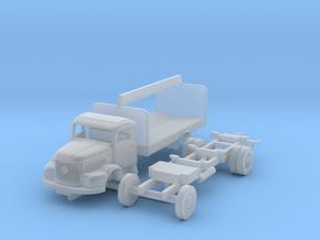 Steyr 480 mit Getränkekistenaufbau für N-Spur in Smooth Fine Detail Plastic
