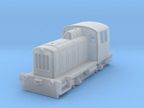 TGK-2 in Smooth Fine Detail Plastic: 1:87 - HO