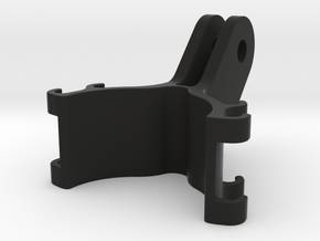 30mm tube action cam to GoPro-style mount in Black Natural Versatile Plastic