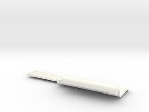 Lancia Delta fender wing trim (L) in White Processed Versatile Plastic