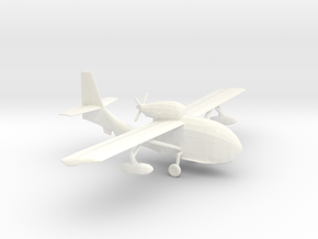 James Bond - TMWTGG - Seabee Plane in White Processed Versatile Plastic