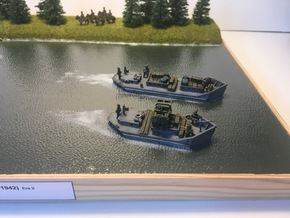 1/144th scale Ladoga Tender, short (wline) in Smooth Fine Detail Plastic