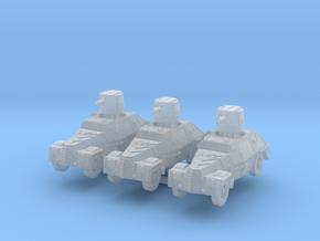 Marmon herrington mk1 (x3) 1/200 in Smooth Fine Detail Plastic