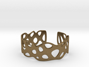 Cellular Bracelet Size L in Natural Bronze
