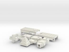 Big Building Botbot in White Natural Versatile Plastic