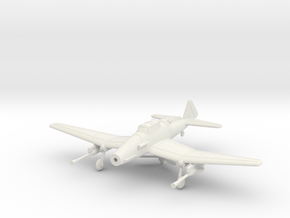 1/144 Junkers Ju-187 ground mode in White Natural Versatile Plastic