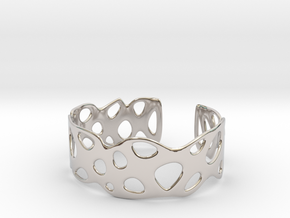 Cellular Bracelet Size M in Platinum