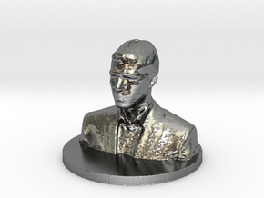 Michael Scan 2 in Polished Silver