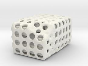 Sette e Mezzo in White Natural Versatile Plastic