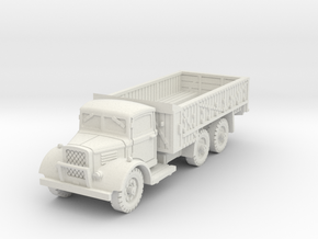 Austin K6 3t 6x4 early (open) 1/87 in White Natural Versatile Plastic