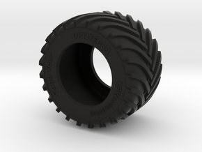 1/64 LSW 1400 tyre in Black Natural Versatile Plastic: 1:64 - S