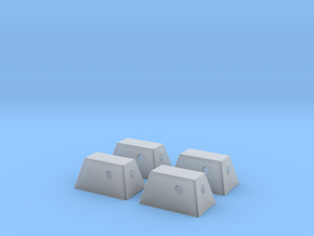 RCS Housing Set of 4-1:35 in Smooth Fine Detail Plastic