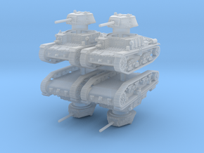 m15 42 Tank (4 pieces) 1/160 in Smoothest Fine Detail Plastic