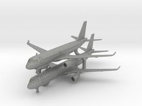 A320 & A321 w/Gear (PA12) in Gray PA12: 1:700