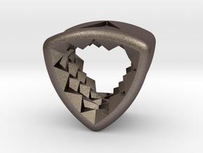 Stretch Diamond 16 By Jielt Gregoire in Polished Bronzed Silver Steel