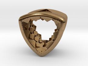 Stretch Diamond 16 By Jielt Gregoire in Natural Brass