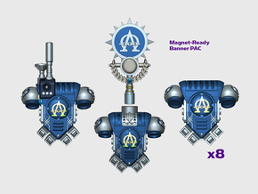 Alpha Omega - Prime:1 PACs [Squad 1] in Smooth Fine Detail Plastic