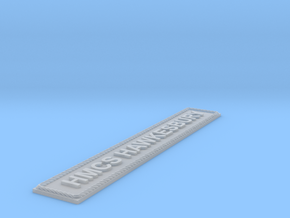 Nameplate HMCS Hawkesbury (7 inches) in Smooth Fine Detail Plastic