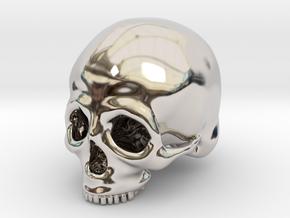Skull Deko (big) in Platinum