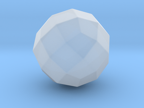 Joined Rhombicuboctahedron - 10 mm - Round V1 in Smooth Fine Detail Plastic