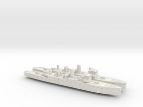 HMIS Hindustan 1/1800 (Folkestone Class) x2 in White Natural Versatile Plastic