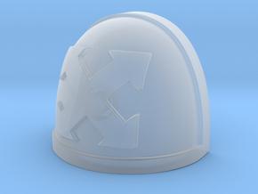 Close Support Shoulder Pad Warhammer 40k McFarlane in Smooth Fine Detail Plastic